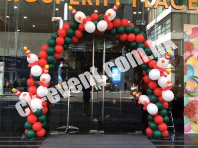 聖誕氣球佈置裝飾